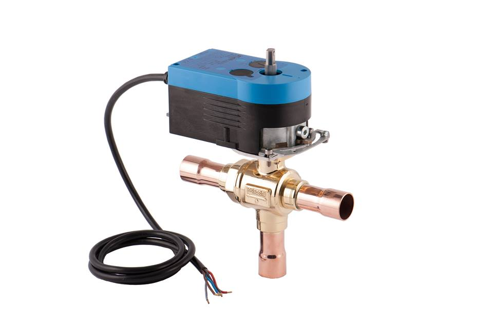 3-way valve with ball shutters Castel Image
