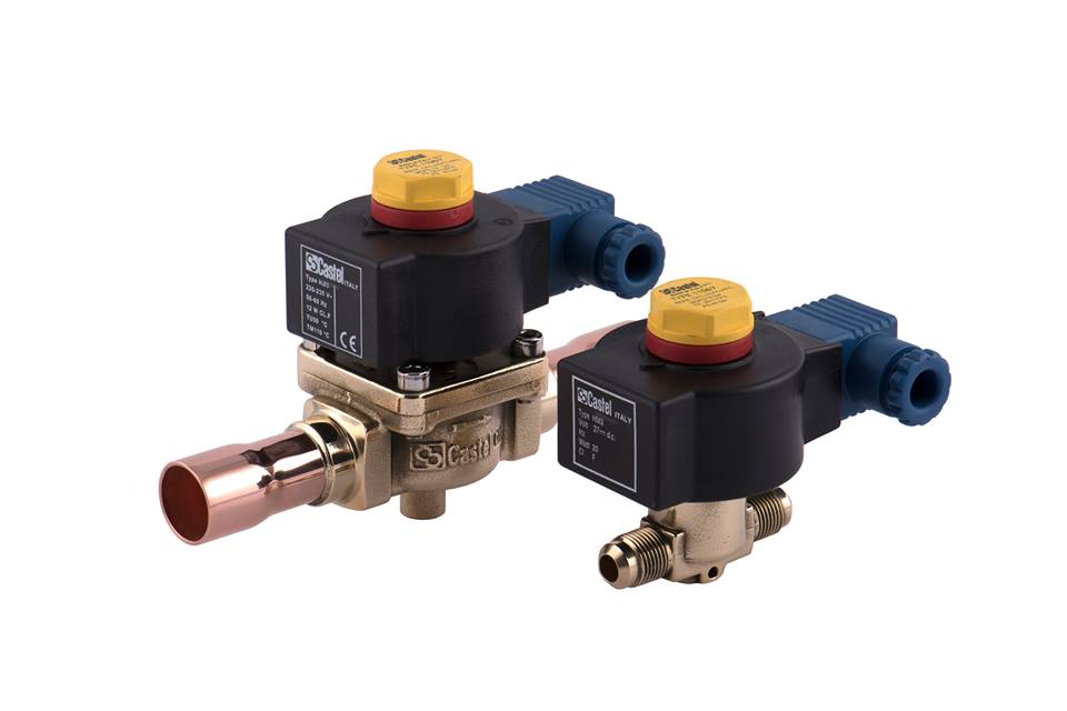 Normally-open solenoid valves Castel Image