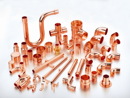 Copper fittings Image
