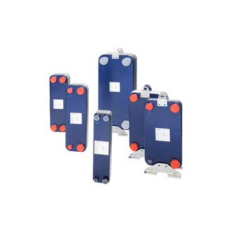 Single circuit brazed plates Image